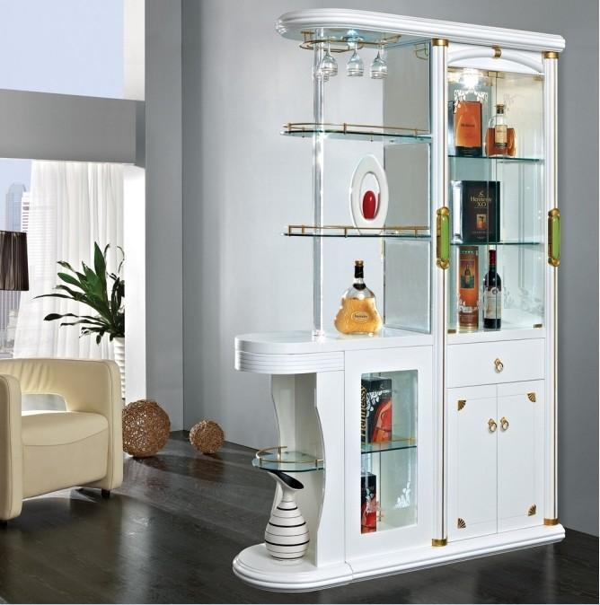 家装酒柜造型